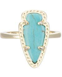 Kendra Scott | Blue Skylen Ring Turquoise | Lyst