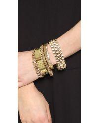 Samantha Wills - Metallic Your Warm Whispers Bracelet Set - Gold - Lyst