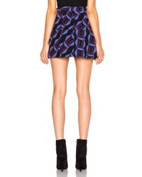 Marni | Purple Printed Crepe Double Face Skirt | Lyst