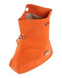 Orciani - Orange Handbag - Lyst