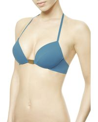 La Perla | Blue Low-rise Bikini Briefs | Lyst