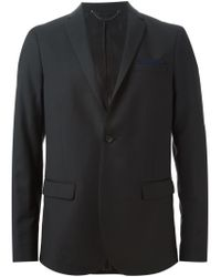 DIESEL - Black 'j-usop' Blazer for Men - Lyst