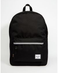 Herschel Supply Co. | Black Winlaw Backpack In Cordura 16.75l With Leather Trim for Men | Lyst
