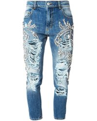 Marco Bologna | Blue Loose-Fit Slim High-Waisted Denim Jeans | Lyst