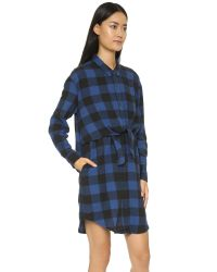 Cheap Monday - Black Flannel Dress - Lyst
