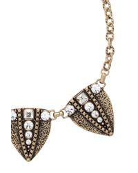 Oasis - Metallic Arrow Necklace - Lyst