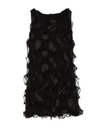 Jolie Carlo Pignatelli - Black Short Dress - Lyst