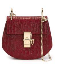 Chloé | Red 'drew' Shoulder Bag | Lyst