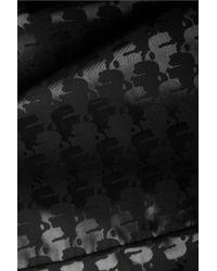 Karl Lagerfeld   Black Bowletto Texturedleather Tote   Lyst
