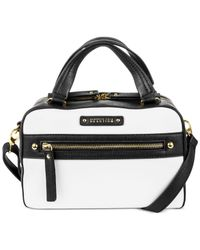 Kenneth Cole Reaction | Black Bondi Girl Mini Satchel | Lyst