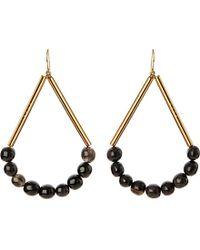 Marni - Metallic Horn Drop Earrings - Lyst