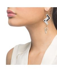 Lulu Frost - Pink Ravenna Earring - Lyst