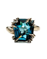 Alexis Bittar | Blue Midnight Marquis Fancy Cut Ring You Might Also Like | Lyst