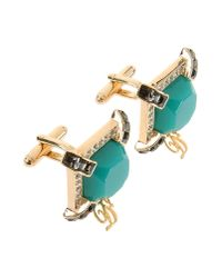 DSquared² - Green Cuff Links - Lyst