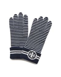 Tory Burch | Multicolor Striped Glove | Lyst