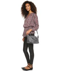 Marc By Marc Jacobs | Metallic New Too Hot To Handle Satchel - Faded Aluminum | Lyst