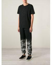 Marcelo Burlon | Black Python-Print Cotton Sweatpants | Lyst