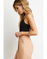 Forever 21 | Black Strappy Back Bodysuit You've Been Added To The Waitlist | Lyst
