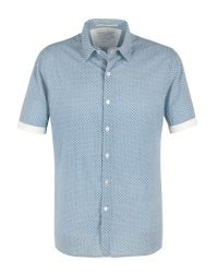 Racing Green | Blue Bridlington Short Sleeve Shirt for Men | Lyst
