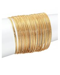 ABS By Allen Schwartz | Metallic Bitter Not Sweet Bangle Bracelet Set | Lyst