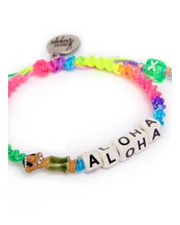 Venessa Arizaga | Multicolor 'lady Aloha' Bracelet | Lyst