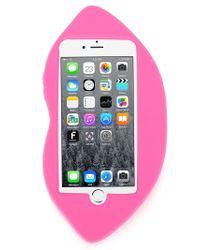 Stella McCartney   Pink Lips Iphone 6 Case   Lyst