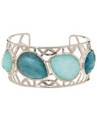 Ippolita | Blue Aqua Wonderland Four Stone Lacework Cuff | Lyst