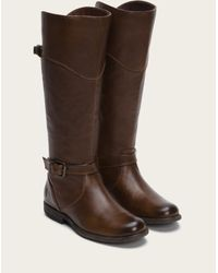 Frye - Brown Phillip Riding Wide - Lyst