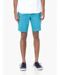 Mango | Blue Cotton Bermuda Shorts for Men | Lyst