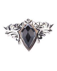 Stephen Webster - Metallic 'Spike Crystal Haze' Ring - Lyst