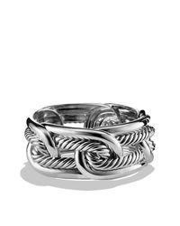 David Yurman - Metallic Labyrinth Link Bracelet - Lyst