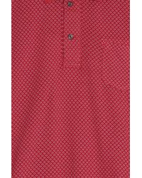 120% Lino - Red Cruise Polo Shirt for Men - Lyst