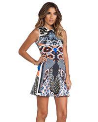 Clover Canyon   Multicolor Cuban Tile Dress   Lyst