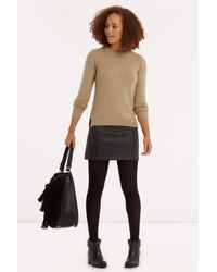 Oasis | Natural The Perfect Crew | Lyst