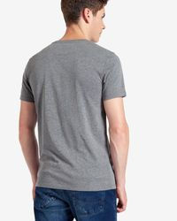 Ted Baker | Gray Eagle Graphic Crew Neck T-shirt for Men | Lyst