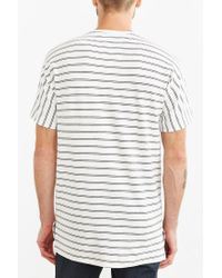 Timberland | White Luther Striped Dolman Tee for Men | Lyst