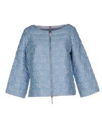 Scee By Twin-set - Blue Jacket - Lyst