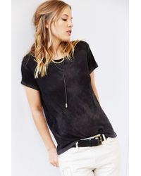 Cotton Citizen - Black Marabella Crew-Neck Tee - Lyst