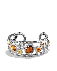 David Yurman | Metallic Mosaic Cuff with Diamonds | Lyst
