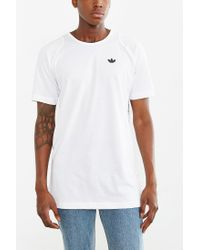 Adidas - White Sport Luxe Long Reptile Tee for Men - Lyst
