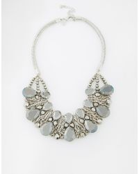 Coast | Metallic Herme Necklace | Lyst