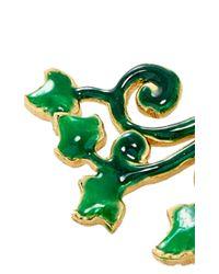 Alison Lou | Green Ivy Ear Jacket | Lyst