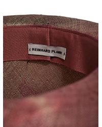 Reinhard Plank - Pink New Season - Mens Cobo Straw Hat for Men - Lyst