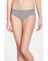 Natori | Gray 'yogi' Girl Briefs | Lyst