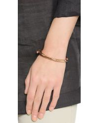 Miansai | Pink Side Cuff - Rose Gold | Lyst