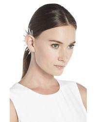 BCBGMAXAZRIA - Metallic Spike Ear Cuff - Lyst