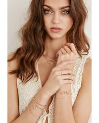 Forever 21 - Metallic Shashi Tracy North South Ring - Lyst
