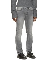 Acne | Gray Grey Max Shot Jeans for Men | Lyst