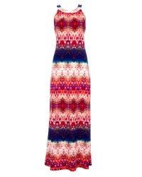 Wallis | Multicolor Petite Tribal Print Maxi Dress | Lyst