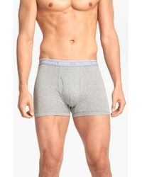 Michael Kors | Gray 'soft Touch' Trunks, (3-pack) for Men | Lyst